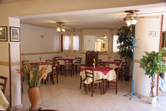 Sala Ristorante Hotel Due Torri