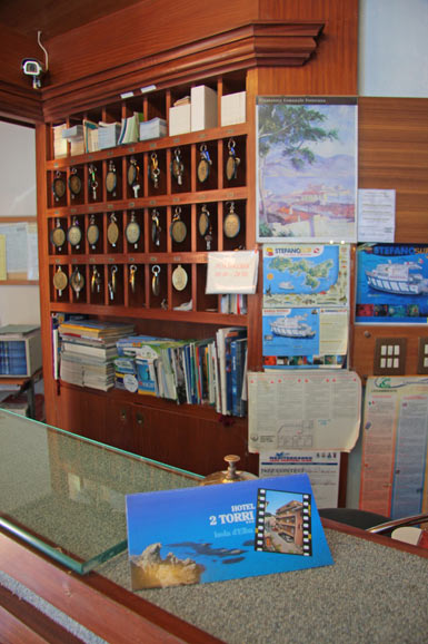 Reception Hotel Due Torri