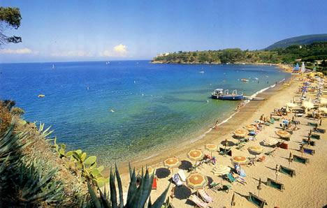 Isola d' Elba Foto spiaggia Naregno